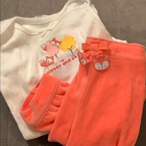 3-6 Mo Outfit Gymboree Fox
